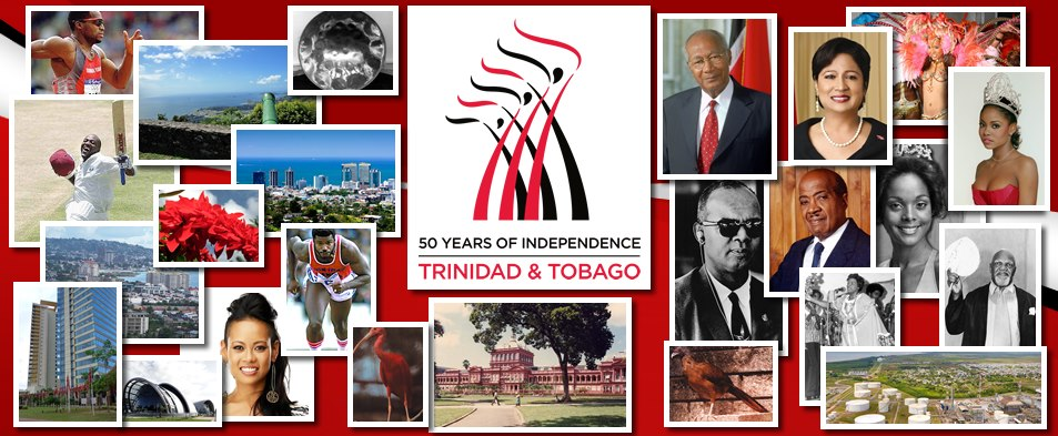 TRINIDAD AND TOBAGO 50 YEARS OF INDEPENDENCE