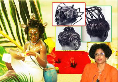 B.World Connection : Juliette SMERALDA, Peaux noires cheveux crépus histoire d'une alliénation