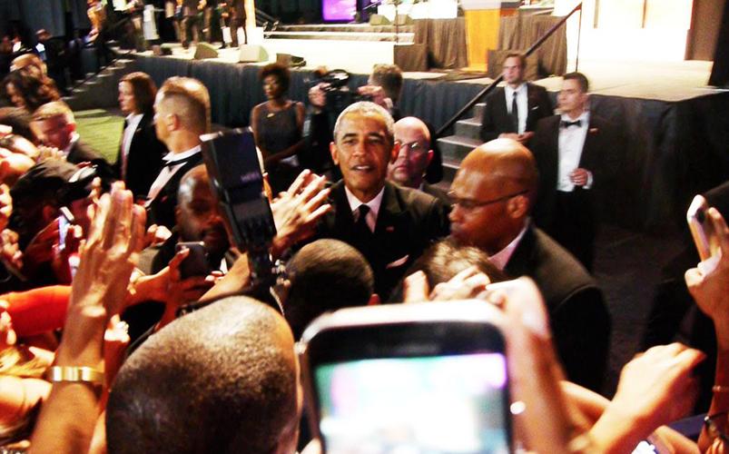 B.World Connection : Black Caucus 2015  «Le rendez-vous de l'Amérique noire»